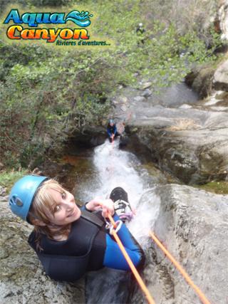 Canyon d'eau chaude à Thues