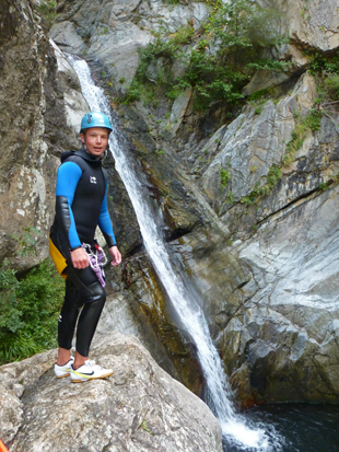 Canyoning à Argeles